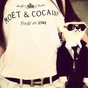 Moet & Cocaine T-Shirt